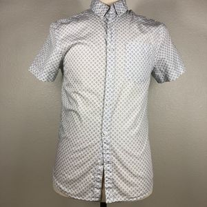 Guess Shirts - Guess Slim Fit SS Casual Button Down Small